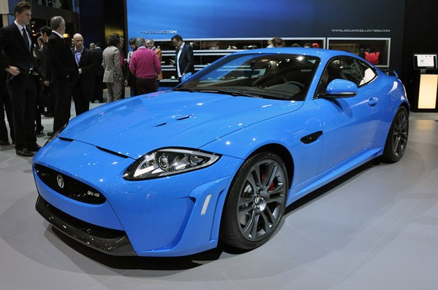 2012 Jaguar XKR-S at Geneva reveal