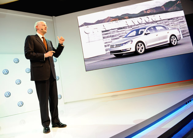 Jonathan Browning, VW of America CEO