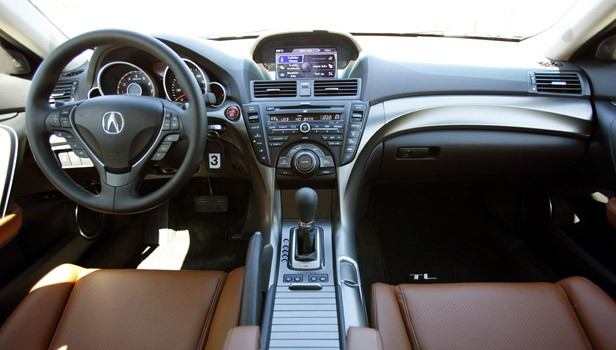 2012 Acura TL interior