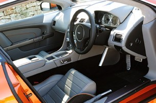 2012 Aston Martin Virage interior