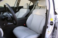 2011 Lexus IS 250 AWD front seats