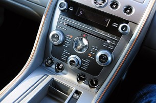 2012 Aston Martin Virage instrument panel