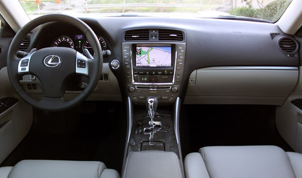 2011 Lexus IS 250 AWD interior