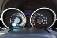 2012 Acura TL gauges