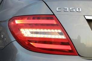 2012 Mercedes-Benz C350 Sedan taillight