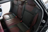 2012 Ford Focus Titanium rear seats