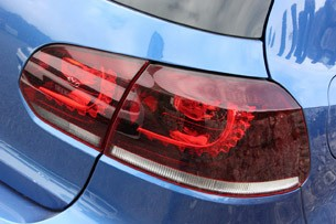 2012 Volkswagen Golf R taillight