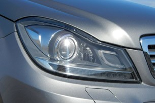 2012 Mercedes-Benz C350 Sedan headlight