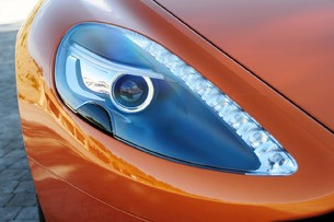 2012 Aston Martin Virage headlight