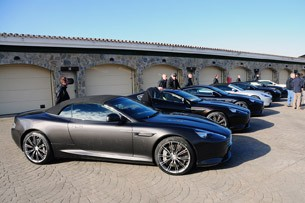 2012 Aston Martin Virage group