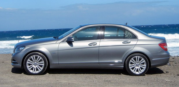 2012 Mercedes-Benz C350 Sedan side view