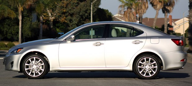 2011 Lexus IS 250 AWD side view