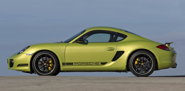 2011 Porsche Cayman R side view
