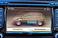 2014 Volkswagen Golf Blue-e-motion multimedia system