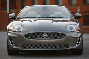 2011 Jaguar XKR Convertible front view