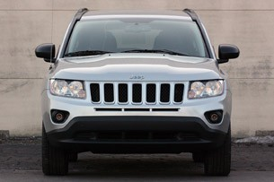 2011 Jeep Compass front view