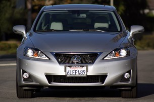 2011 Lexus IS 250 AWD front view