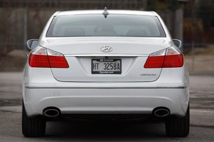 2011 Hyundai Genesis Sedan rear view