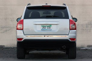 2011 Jeep Compass rear view