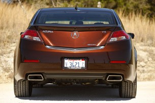 2012 Acura TL rear view