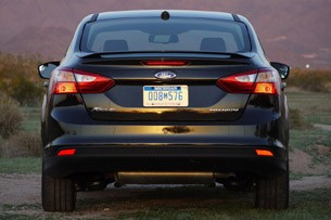 2012 Ford Focus Titanium rear view