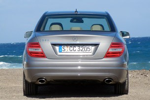 2012 Mercedes-Benz C350 Sedan rear view
