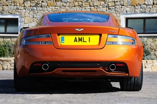 2012 Aston Martin Virage rear view