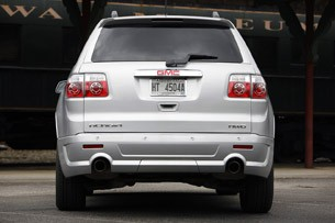 2011 GMC Acadia Denali rear view
