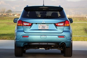 2011 Mitsubishi Outlander Sport SE AWC rear view