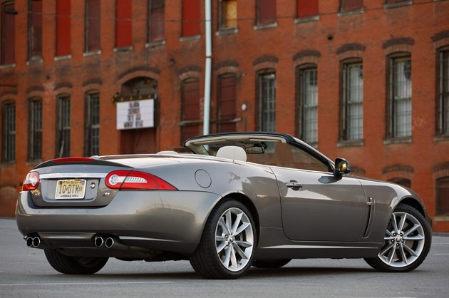 2011 Jaguar XKR Convertible rear view