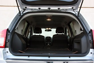 2011 Jeep Compass rear cargo area
