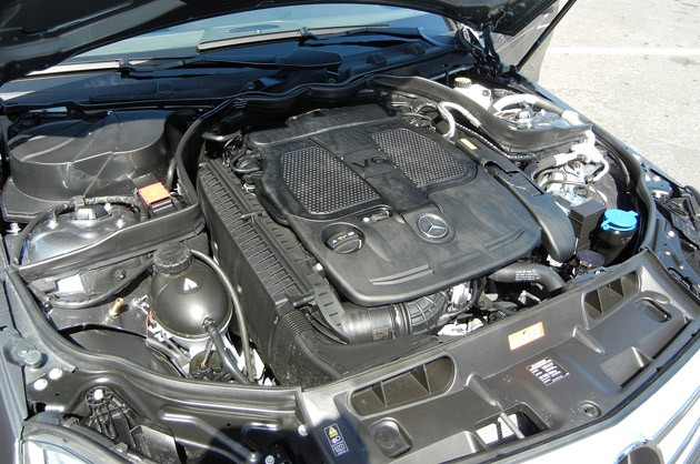 2012 Mercedes-Benz C350 Sedan engine