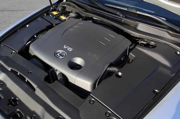 2011 Lexus IS 250 AWD engine