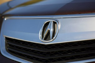 2012 Acura TL grille