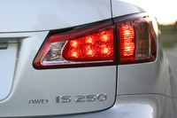 2011 Lexus IS 250 AWD taillight
