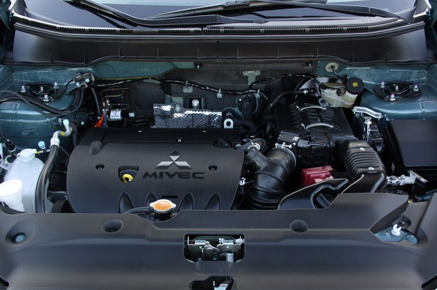 2011 Mitsubishi Outlander Sport SE AWC engine