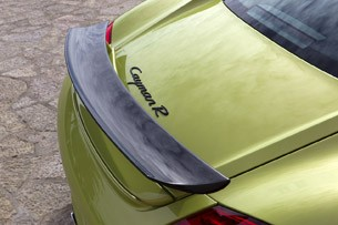 2011 Porsche Cayman R rear wing