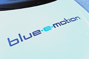 2014 Volkswagen Golf Blue-e-motion graphics