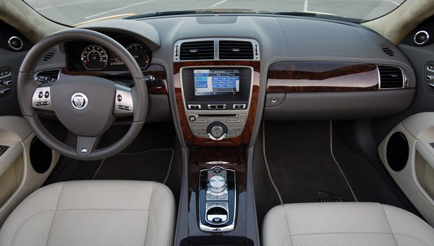 2011 Jaguar XKR Convertible interior
