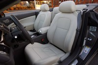 2011 Jaguar XKR Convertible seats