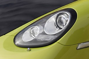 2011 Porsche Cayman R headlight