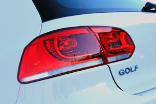 2014 Volkswagen Golf Blue-e-motion taillight