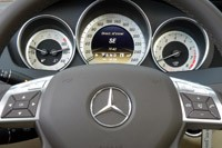2012 Mercedes-Benz C350 Sedan steering wheel