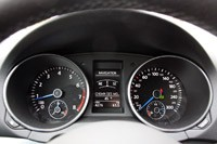 2012 Volkswagen Golf R gauges