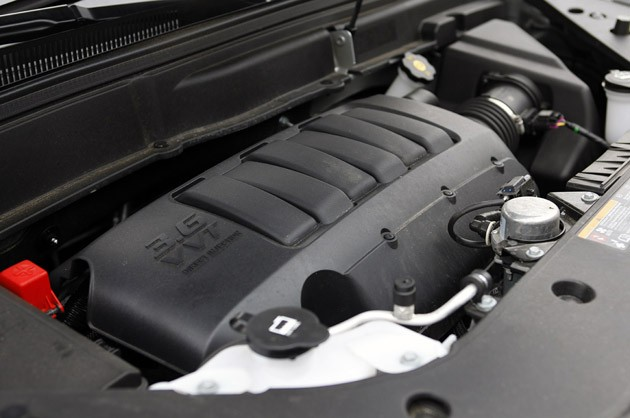 2011 GMC Acadia Denali engine