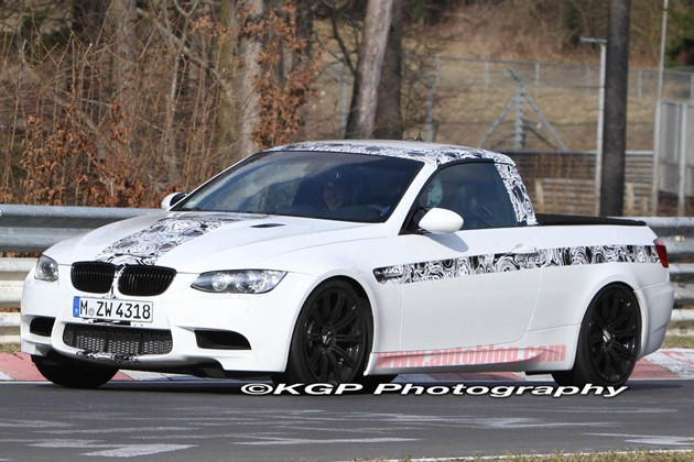 BMW M3 pickup prototype on Norsdschliefe