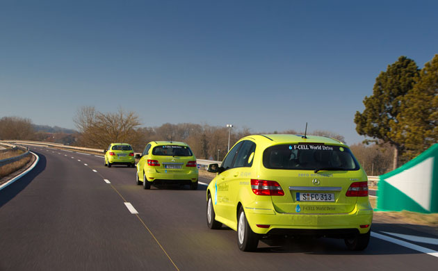 Mercedes-Benz F-Cell caravan