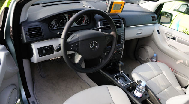 Mercedes-Benz F-Cell interior
