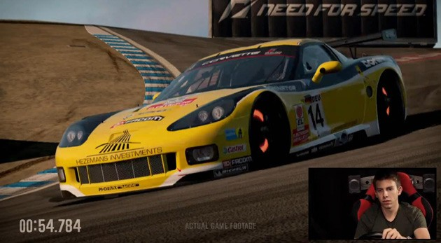 Video Tommy Milner Laps Laguna Seca In Nfs Shift 2 Unleashed