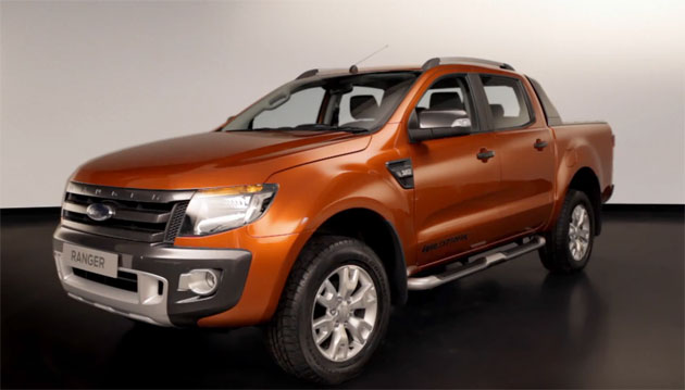 New Ford Ranger 2012
